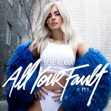 Image result for bebe rexha all your fault