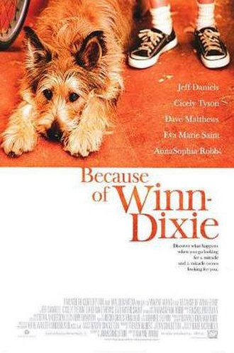 Because of Winn-Dixie (film) - Theatrical release poster