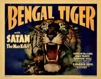 Bengal Tiger (1936 film) - Image: Bengal Tiger (1936 film)