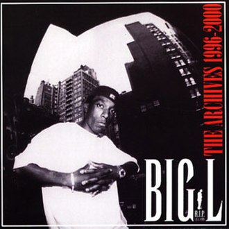 Big L: The Archives 1996–2000 - Image: Big L The Archives 1996 2000