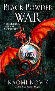 <i>Black Powder War</i> novel by Naomi Novik
