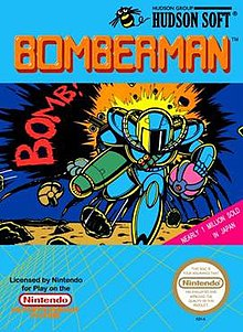 220px-BombermanCover - Bomberman [NES][MF] - Juegos [Descarga]