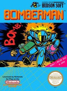 <i>Bomberman</i> (1983 video game) 1983 video game