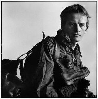 Bruce Chatwin - Bruce Chatwin, photographed by Lord Snowdon, 28 July 1982