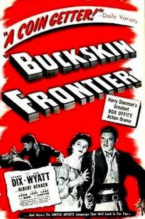 Buckskin Frontier - Theatrical release poster