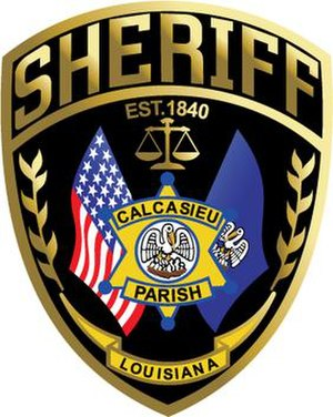 Calcasieu Parish Sheriff's Office - Image: CPSO Patch 2012