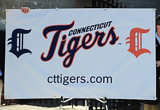 Connecticut Tigers - Unveiling of the team's logo and uniforms at 4/1/10 press conference NY-Penn League