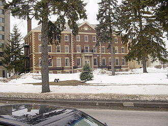 State University of New York at Plattsburgh - Champlain Valley Hall, the oldest building on campus.