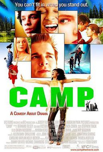 Camp (2003 film) - Theatrical release poster