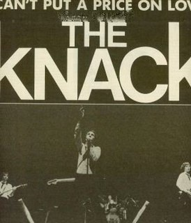 Cant Put a Price on Love 1980 single by The Knack