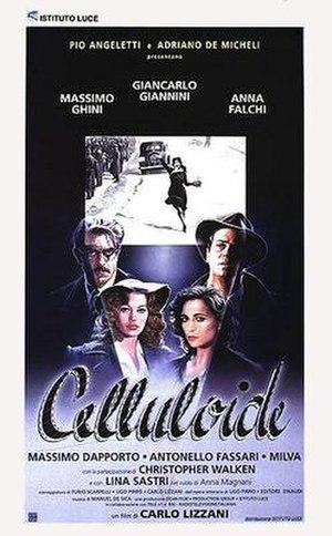 Celluloide - Italian theatrical release poster by Renato Casaro