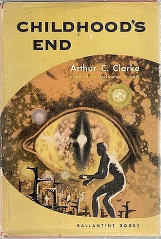 Childhood's End - Cover of first edition hardcover