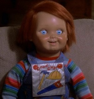 Chucky (Child's Play) - The Chucky doll, as seen in Child's Play 2