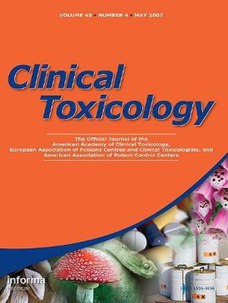 Clinical Toxicology - Image: Clinical Toxicology
