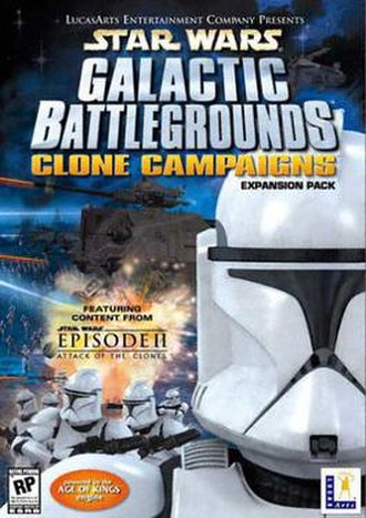 Star Wars: Galactic Battlegrounds - Image: Clone campaigns cover