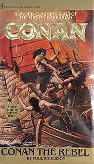 <i>Conan the Rebel</i> novel by Poul Anderson