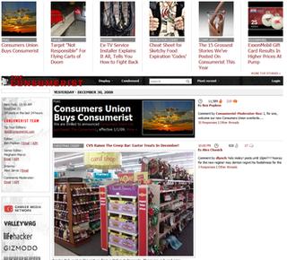 <i>Consumerist</i> consumer news blog