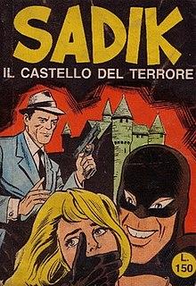 <i>Sadik</i> (comics) Italian crime comic book series