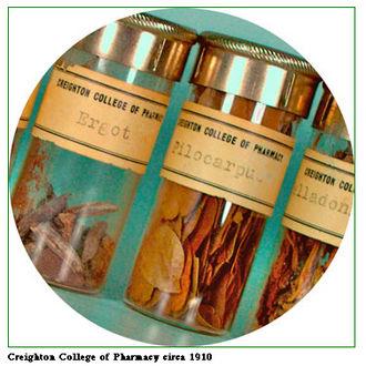 Crude drug - Creighton University College of Pharmacy crude drugs circa 1910