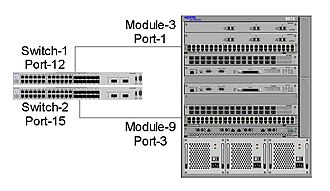Multi-link trunking - DMLT between 2 stacked 5530 switches to an ERS 8600 switch