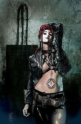 Typhoid Mary (comics) - Image: Daredevil 46
