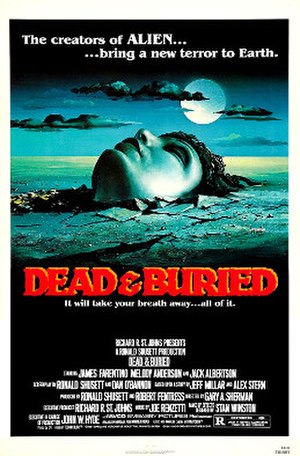 Dead & Buried - Image: Deadburiedposter
