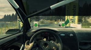 Dirt 3 - Cockpit view