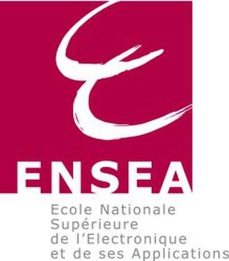 École nationale supérieure de l'électronique et de ses applications - Logo ENSEA