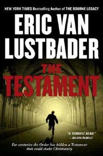 The Testament (Van Lustbader novel) - Cover