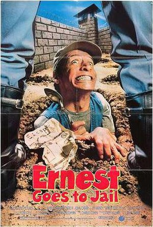 Ernest Goes to Jail - Theatrical release poster