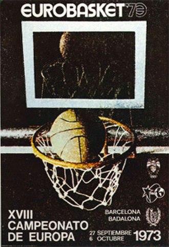EuroBasket 1973 - Image: Euro Basket 1973 logo