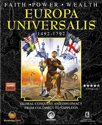 Europa Universalis - Image: Europa Universalis Box