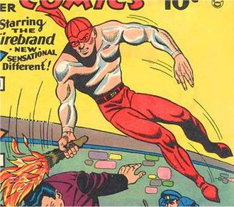 Firebrand (DC Comics) - Image: Firebrand 1