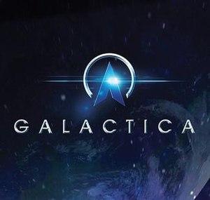 Galactica (roller coaster) - Image: Galactica Logo Alton Towers