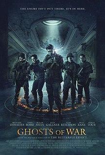 <i>Ghosts of War</i> (2020 film) 2020 horror film