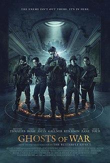 Ghosts of War 2020 UK Eric Bress Brenton Thwaites Kyle Gallner Alan Ritchson  Horror, Thriller, War