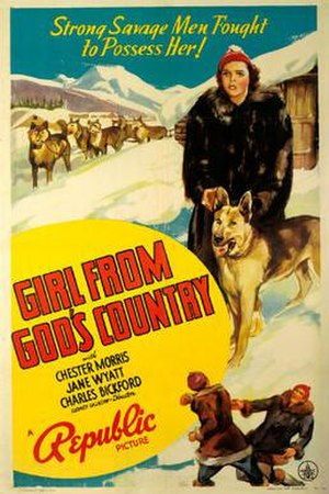 Girl from God's Country - Theatrical release poster