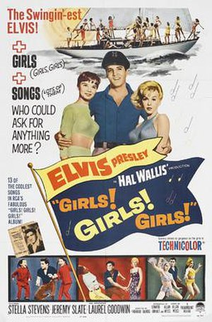Girls! Girls! Girls! - Image: Girls Girls Girls 1962 Poster