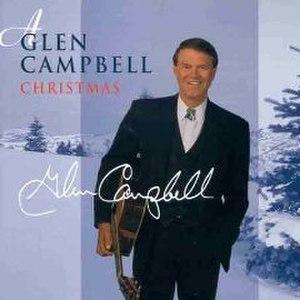 A Glen Campbell Christmas - Image: Glen Campbell A Glen Campbell Christmas album cover