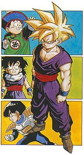 """Gohan Fictional character in the anime and manga franchise """"DragonBall""""."""