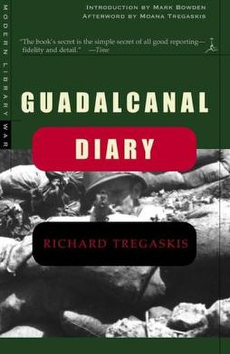 Richard Tregaskis - Cover of a present-day edition of Richard Tregaskis' book Guadalcanal Diary
