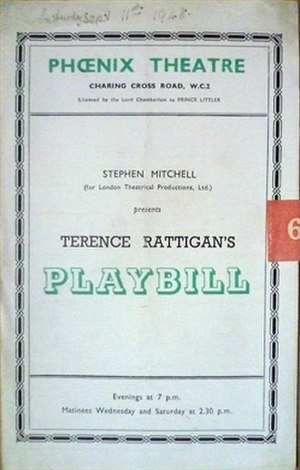 Harlequinade (Rattigan) - Image: Harlequinade (Rattigan play)