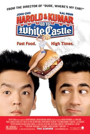 Harold & Kumar Go to White Castle - Theatrical release poster