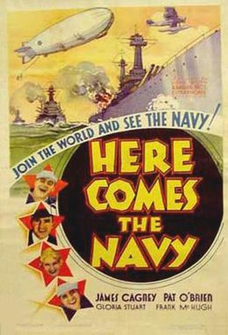 Here Comes the Navy - Original film poster