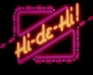 <i>Hi-de-Hi!</i> BBC television sitcom