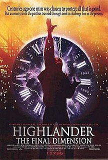 <i>Highlander III: The Sorcerer</i> 1994 film by Andy Morahan