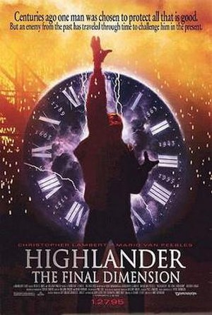 Highlander III: The Sorcerer - Theatrical release poster