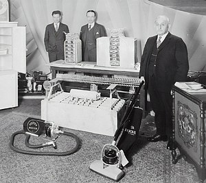 The Hoover Company - The Model 200 Duster and Model 575 upright, which used the same motor