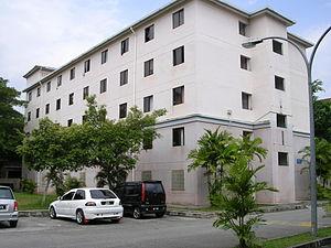 Tunku Abdul Rahman University College - One of the ten residential blocks of TARC Hostel