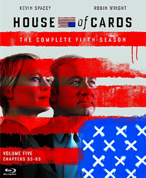 House of Cards (season 5) - Blu-ray cover